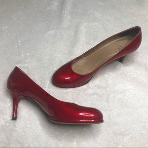 Stuart Weitzman 6.5 Red Pumps Heels Sexy Shoes